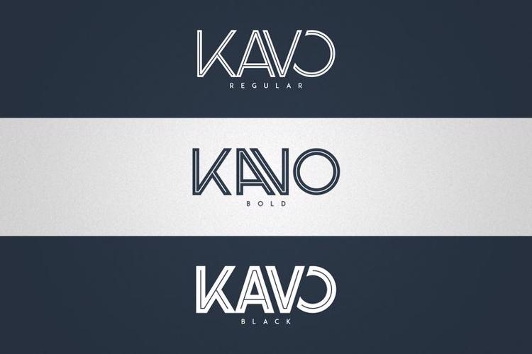 Kavo Inline Font