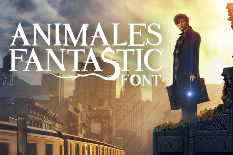 Animales Fantastic Font