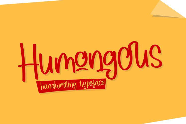 Humongous Font
