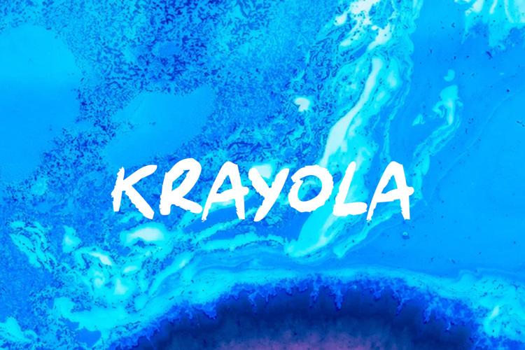 Krayola Font