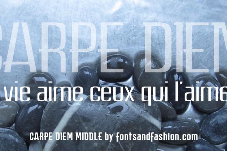 CARPE DIEM MIDDLE demo Font