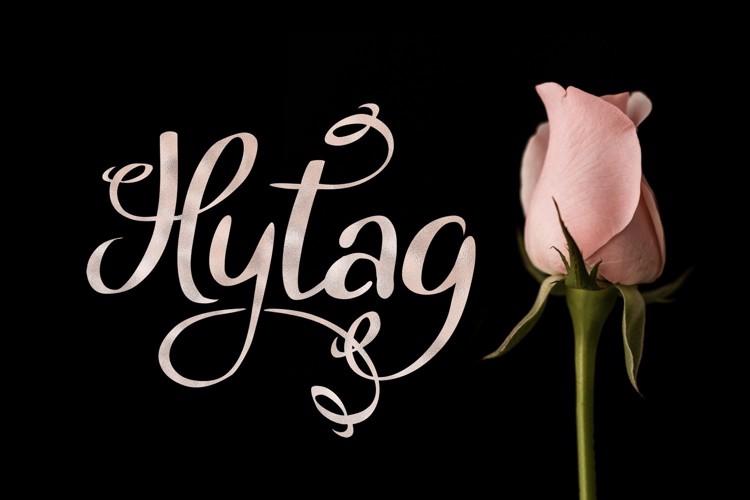 Hytag Font