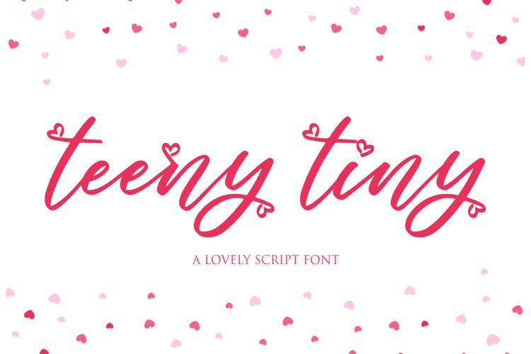 teeny tiny Font