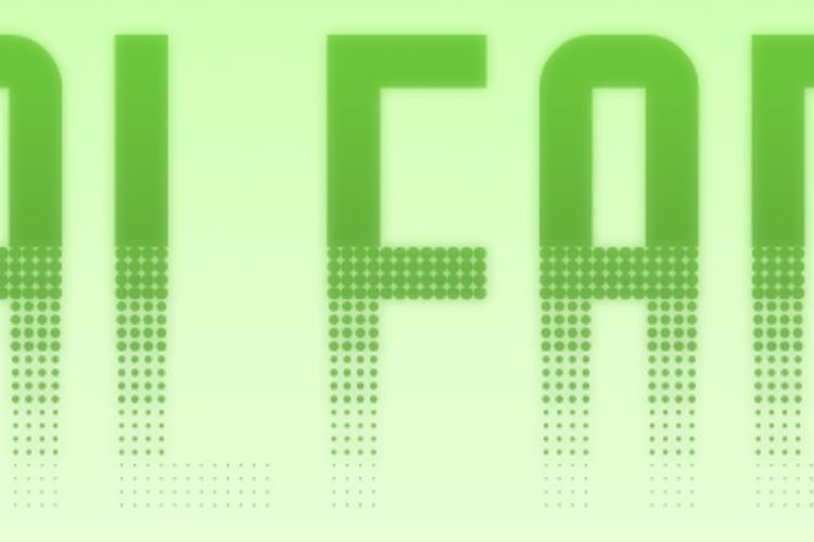Halfade Font