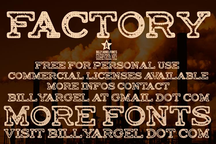 FACTORY Font
