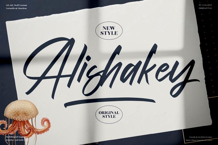 Alishakey Font