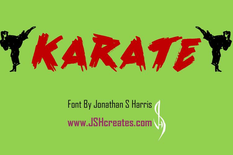 Karate Font