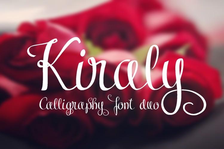Kiraly Font