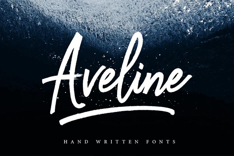 Aveline Script Font