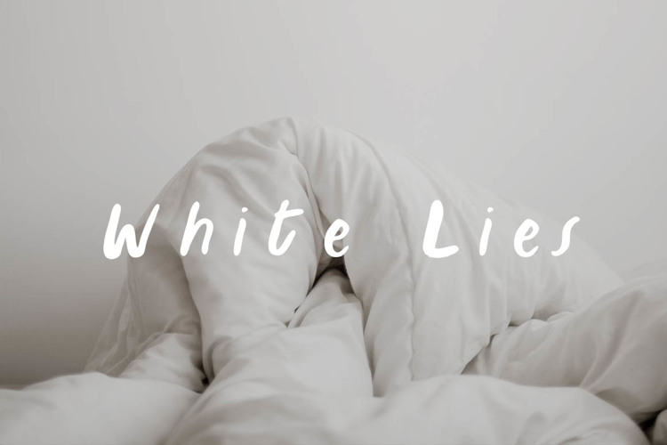 White Lies Font