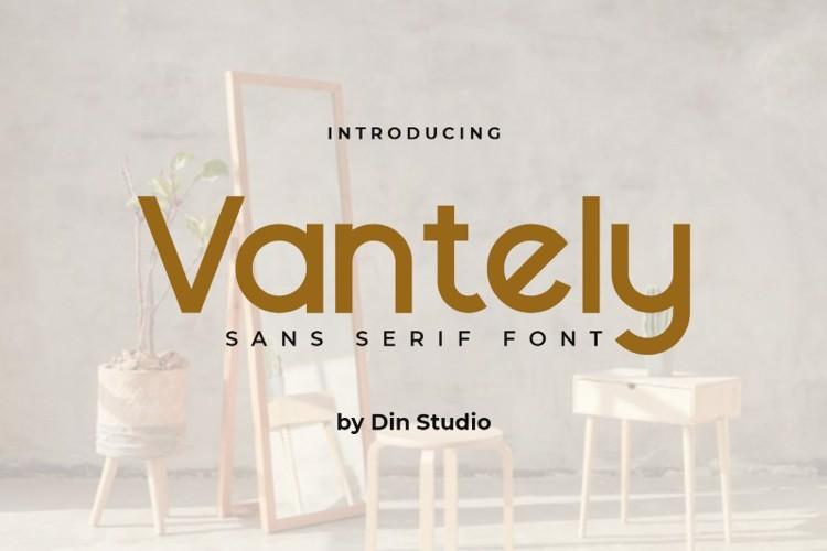 Vantely Font