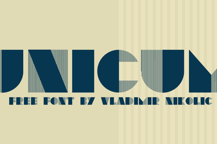Unicum Font