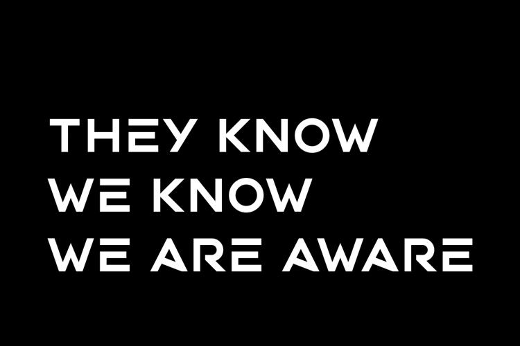 Aware Font