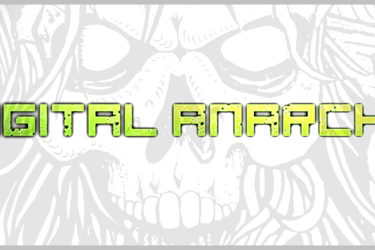 digital anarchy Font