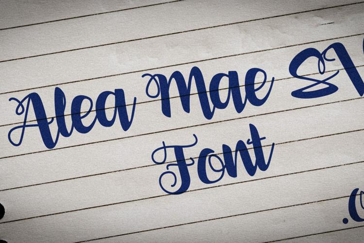 Alea Mae SV Font