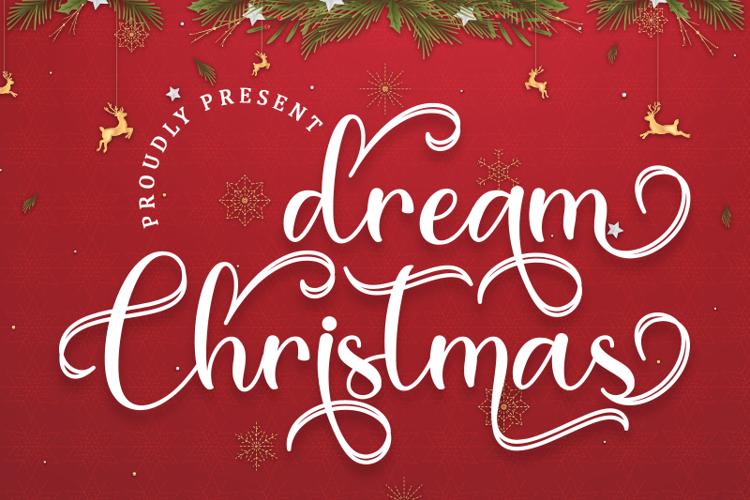 Dream Christmas Font