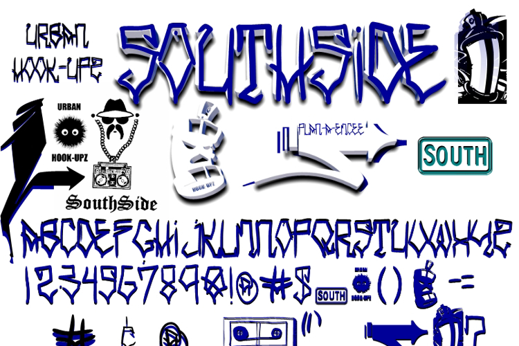 SOUTHSIDE Font