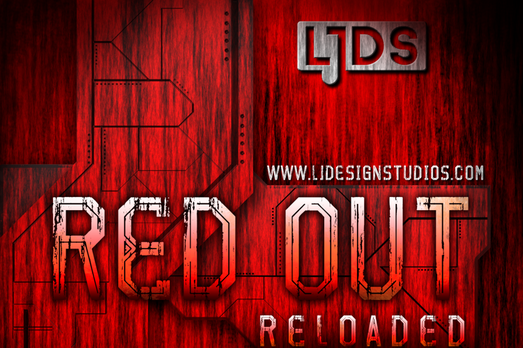 Red Out Reloaded Font