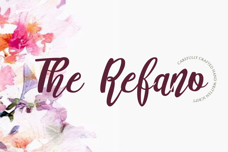 The Refano Font