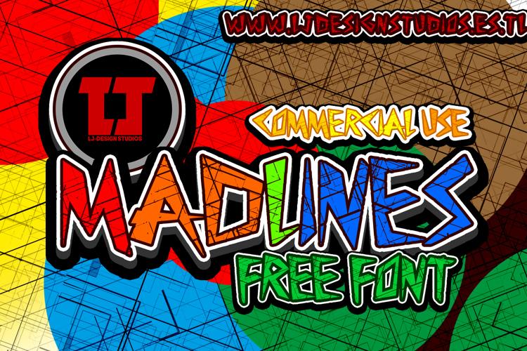MadLines Font