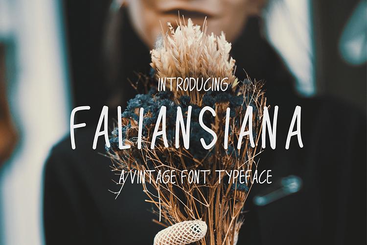 Faliansiana Font