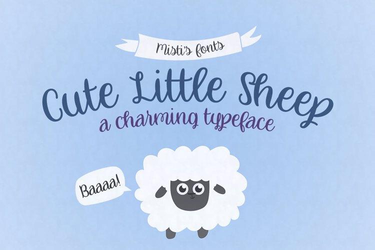 Cute Little Sheep Font