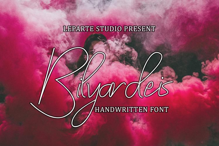 Bilyardeis Font