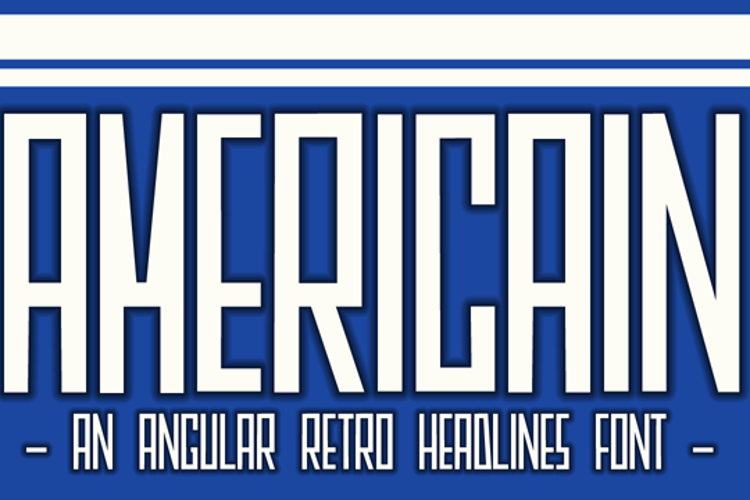 DK Americain Font