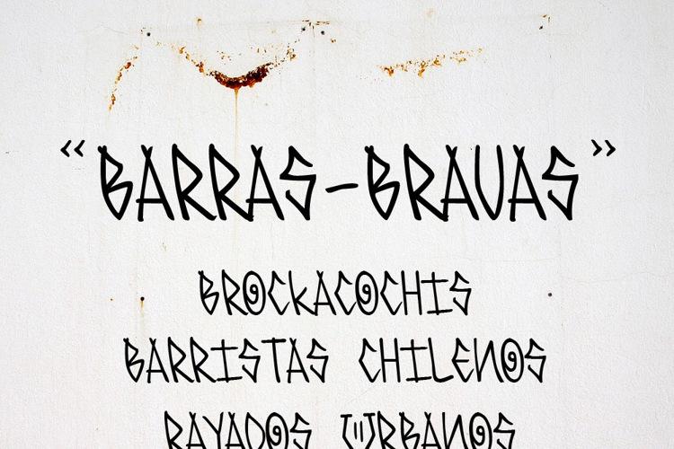 BARRAS-BRAVAS Font