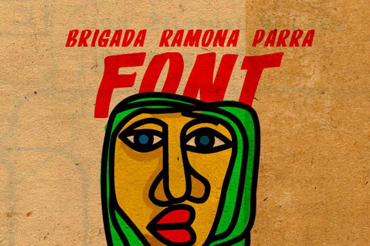 BRIGADA RAMONA PARRA Font