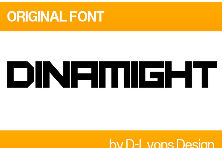 Dinamight Font