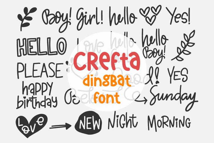 Crefta Font