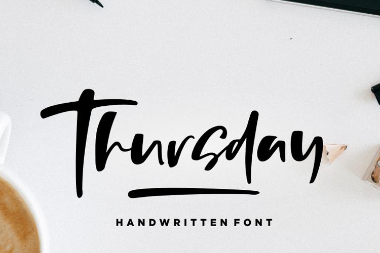 Thursday Vibes Font