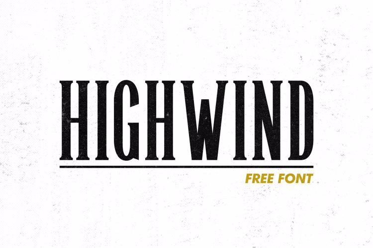 Highwind Font