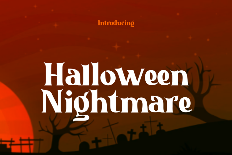 Halloween Nightmare Font