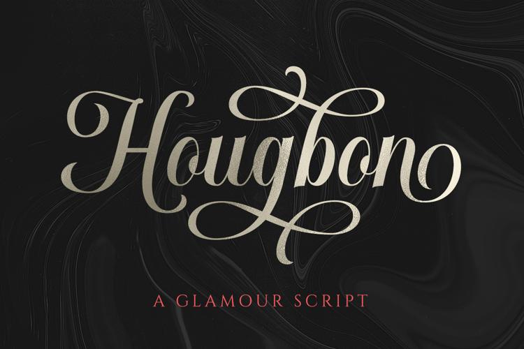 Hougbon Script Font