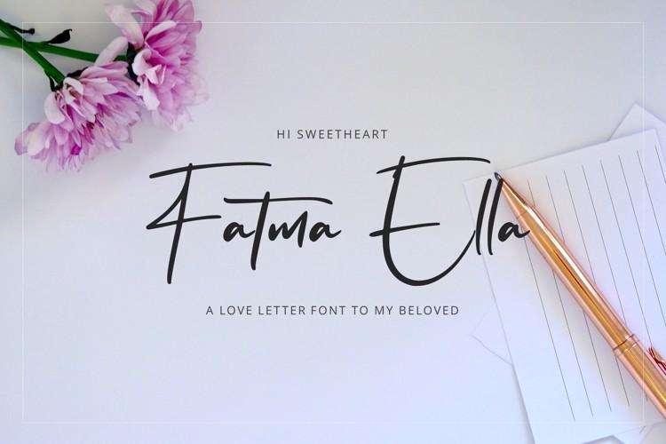 Flavellya Font