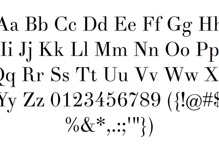 Theano Font
