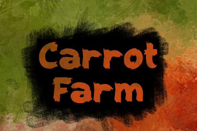 c Carrot Farm Font