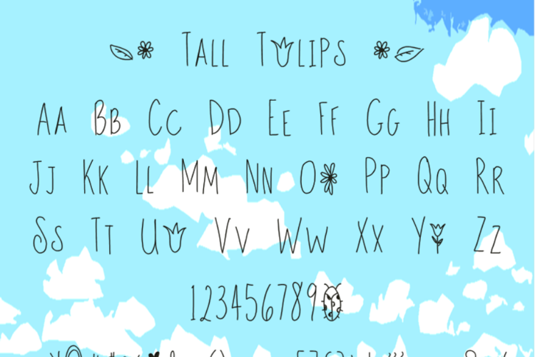 Tall Tulips Font