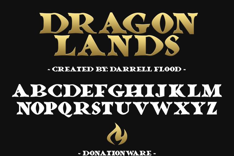 Dragonlands Font
