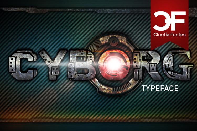 CF Cyborg Font
