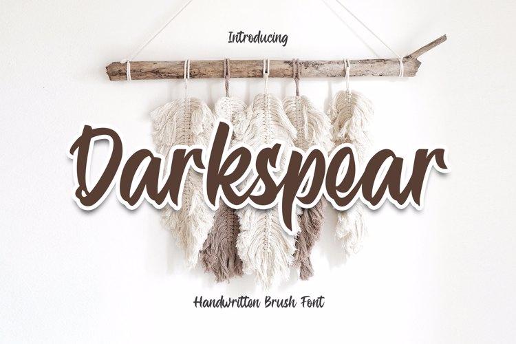 Darkspear - Script Font