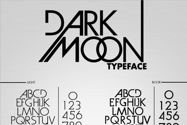 Dark Moon Font