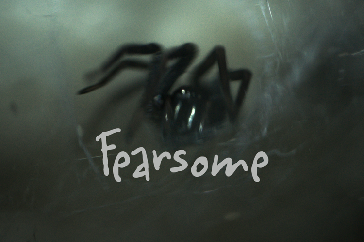 Fearsome DEMO Font