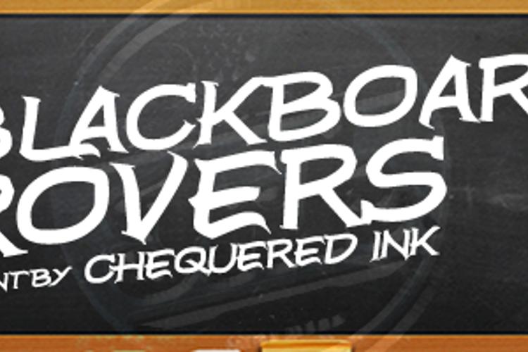 Blackboard Rovers Font