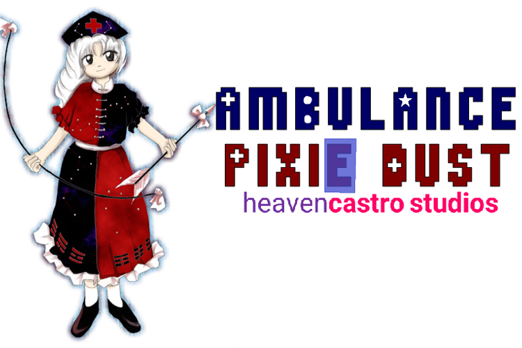 Ambulance Pixie Dust Font