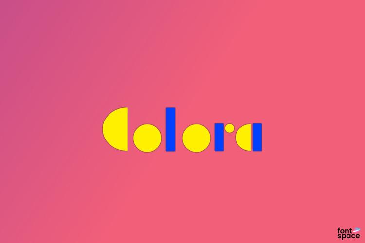 Colora Font