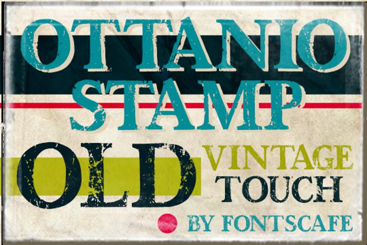 Ottanio Stamp DEMO Font