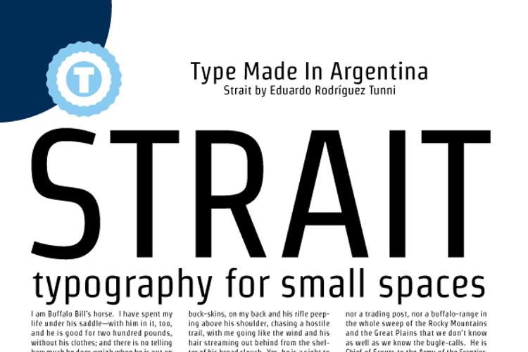 Strait Font